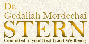 DR. Gedaliah  Mordechai  Stern